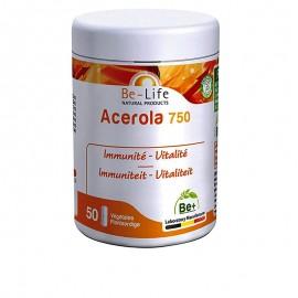 Bioor ACEROLA 750 Acérola, Ginseng et Shii-také : un tiercé tonique ! BE-LIFE